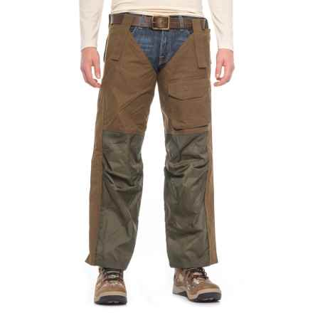Beretta Waxed-Cotton Chaps (For Men) in Spice Brown - Closeouts