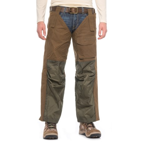 Beretta Waxed-Cotton Chaps (For Men) in Spice Brown