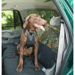 Bergan Dog Auto Safety Harness with Tether - Large in Mossy Oak Break-Up