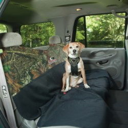 Bergan Dog Auto Safety Harness with Tether - Medium in Mossy Oak Break-Up