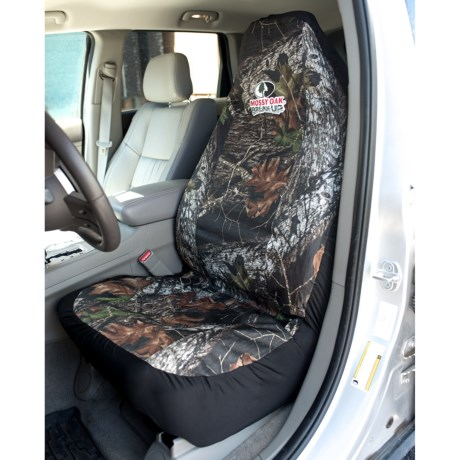 Bergan Mossy Oak® Heavy-Duty Bucket Seat Protector in Mossy Oak Break-Up