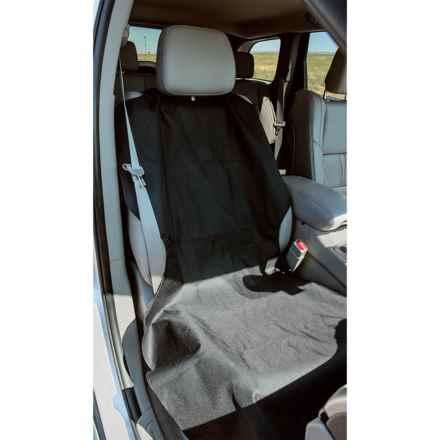 Bergan Poncho Auto Seat Protector in Black - Closeouts