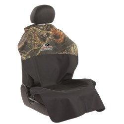 Bergan Poncho Auto Seat Protector in Mossy Oak Break-Up