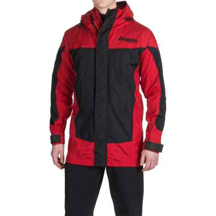 Bergans of Norway Antarctic Expedition Jacket - Waterproof, Insulated (For Men) in Black/Red - Closeouts