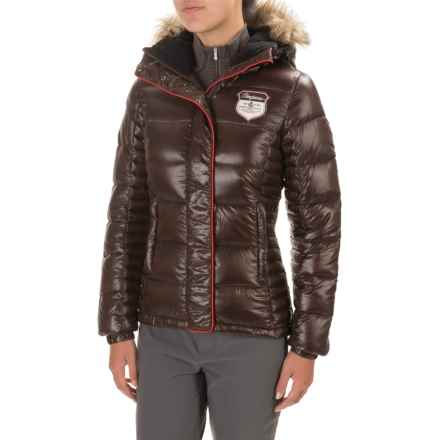 Bergans of Norway Bodo Jacket - 700 Fill Power (For Women) in Dark Brown - Closeouts
