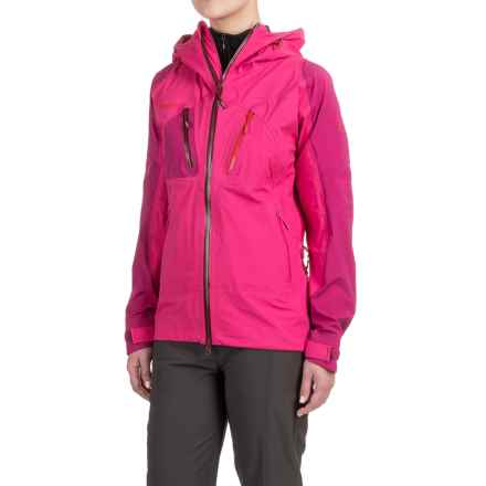 Bergans of Norway Cecilie Jacket (For Women) in Bubblegum/Dark Bubble/Bright Red - Closeouts