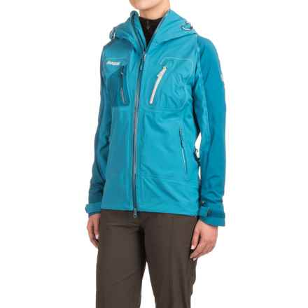 Bergans of Norway Cecilie Jacket (For Women) in Shallow Water/Deep Water/Winter - Closeouts