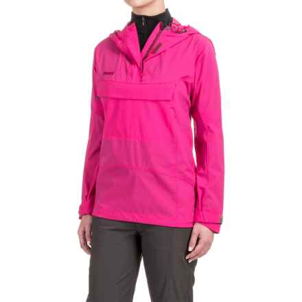 Bergans of Norway Cecilie Microlight Anorak Jacket - Zip Neck (For Women) in Bubblegum - Closeouts