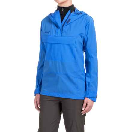 Bergans of Norway Cecilie Microlight Anorak Jacket - Zip Neck (For Women) in Winter Sky - Closeouts
