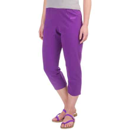 Bergans of Norway Cecilie Pirate Pants - Organic Cotton (For Women) in Amethyst/Light Amethyst - Closeouts