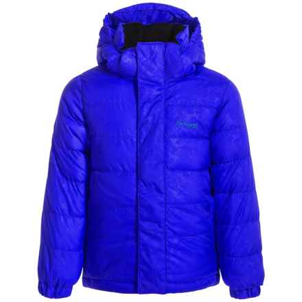 Bergans of Norway Down Jacket - 550 Fill Power (For Little Kids) in Dark Royal Blue - Closeouts
