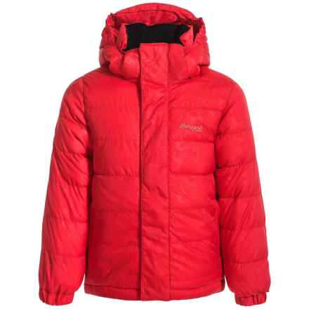 Bergans of Norway Down Jacket - 550 Fill Power (For Little Kids) in Strawberry - Closeouts
