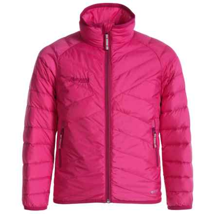 Bergans of Norway Down Light Jacket - 550 Fill Power (For Toddlers) in Hot Pink/Cerise - Closeouts