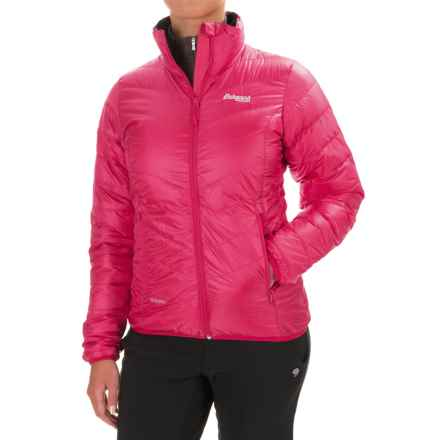 Bergans of Norway Down Light Jacket - 700 Fill Power (For Women) in Hot Pink - Closeouts