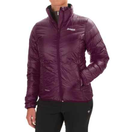 Bergans of Norway Down Light Jacket - 700 Fill Power (For Women) in Plum - Closeouts
