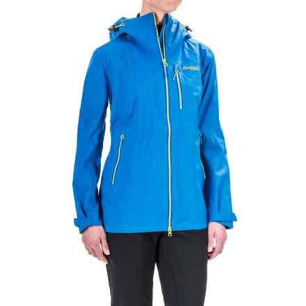 Bergans of Norway Eidfjord Jacket - Waterproof (For Women) in Athens Blue/Spring - Closeouts