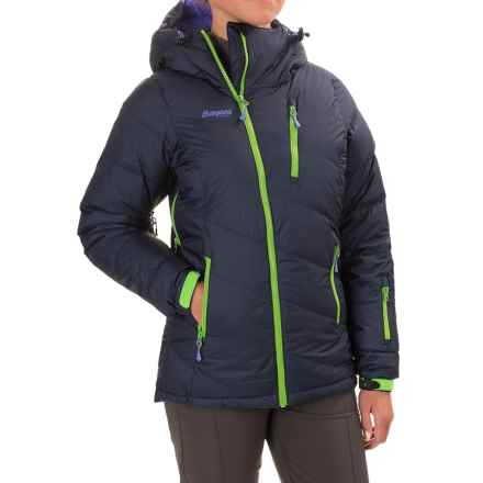 Bergans of Norway Fonna Down Ski Jacket - 750 Fill Power (For Women) in Navy/Light Primula Purple - Closeouts