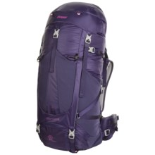 Bergans of Norway Glittertind 55L Backpack in Blackberry/Magenta Pink - Closeouts