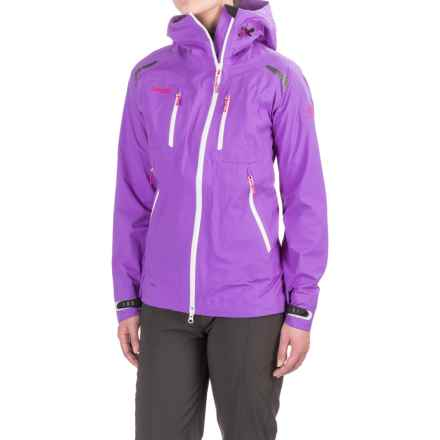 Bergans of Norway Glittertind Light Jacket (For Women) in Amethyst/White/Hot Pink - Closeouts
