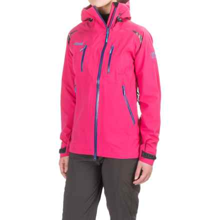 Bergans of Norway Glittertind Light Jacket (For Women) in Hot Pink/Blue/Sea - Closeouts
