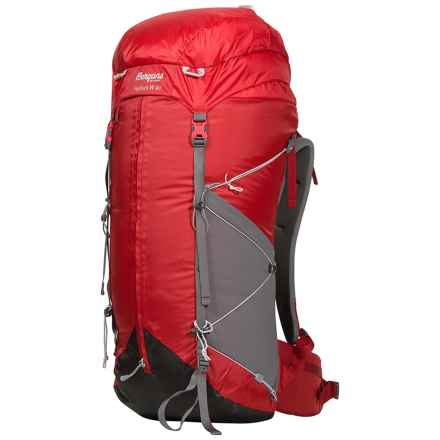 Bergans of Norway Helium 40L Backpack (For Women) in Red/Solid Grey - Closeouts