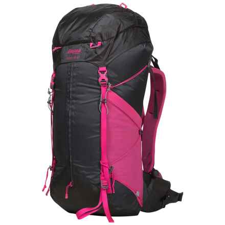 Bergans of Norway Helium 40L Backpack (For Women) in Solid Charcoal/Hot Pink - Closeouts