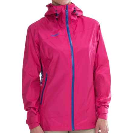 Bergans of Norway Helium Jacket - Waterproof (For Women) in Hot Pink/Bright Cobalt - Closeouts