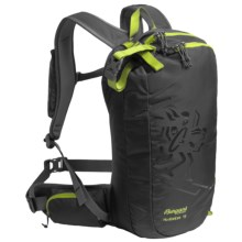 Bergans of Norway Hodlekve Snowsport Backpack - 15L in Black/Neon Green - Closeouts