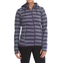 Bergans of Norway Humle Lady Jacket (For Women) in Primula Striped/Timothygreen - Closeouts