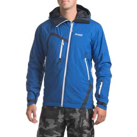 Bergans of Norway Isogaisa Jacket - Waterproof, Insulated (For Men) in Royal Blue/Navy/White - Closeouts