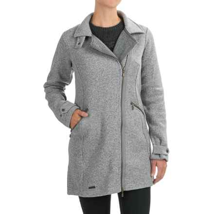 Bergans of Norway Isop Coat - Wool Blend (For Women) in Solid Grey - Closeouts