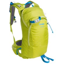 Bergans of Norway Istinden Ski Backpack - 18L in Lime/Light Sea Blue - Closeouts