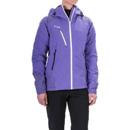 Bergans of Norway Kongsberg PrimaLoft® Jacket - Insulated (For Women) in Funky Purple/Night Blue/White - Closeouts