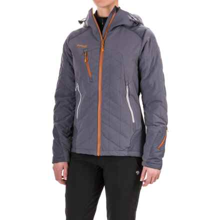 Bergans of Norway Kongsberg PrimaLoft® Jacket - Insulated (For Women) in Night Blue/Blue - Closeouts