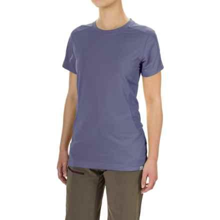 Bergans of Norway Kvikne T-Shirt - Short Sleeve (For Women) in Dusty Blue - Closeouts