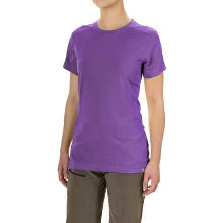 Bergans of Norway Kvikne T-Shirt - Short Sleeve (For Women) in Funky Purple - Closeouts