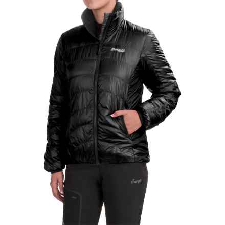 Bergans of Norway Light Down Jacket - 700 Fill Power (For Women) in Black - Closeouts