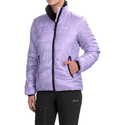 Bergans of Norway Light Down Jacket - 700 Fill Power (For Women) in Light Lilac - Closeouts