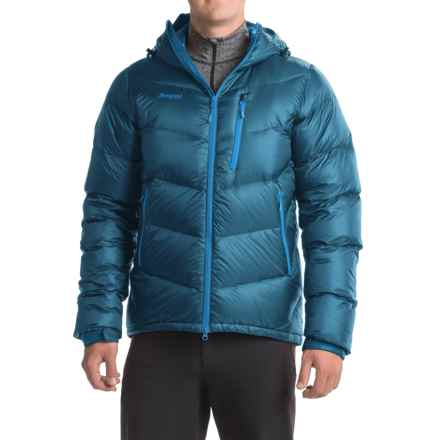 Bergans of Norway Memurutind Down Jacket - 700 Fill Power (For Men) in Deep Sea/Bright Sea Blue - Closeouts