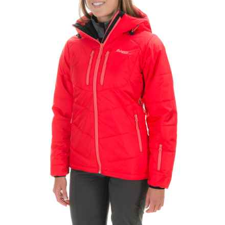 Bergans of Norway Meraker Jacket - Waterproof, Insulated (For Women) in Strawberry/Coral - Closeouts