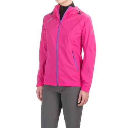 Bergans of Norway Microlight Jacket (For Women) in Hot Pink/Light Amethyst - Closeouts