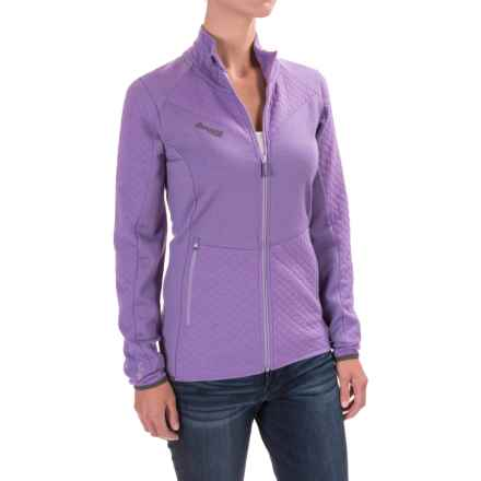 Bergans of Norway Middagstind Jacket (For Women) in Soft Lavender/Grey - Closeouts