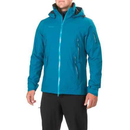 Bergans of Norway Nesbyen Jacket - Waterproof, Insulated (For Men) in Deep Sea/Light Sea Blue - Closeouts