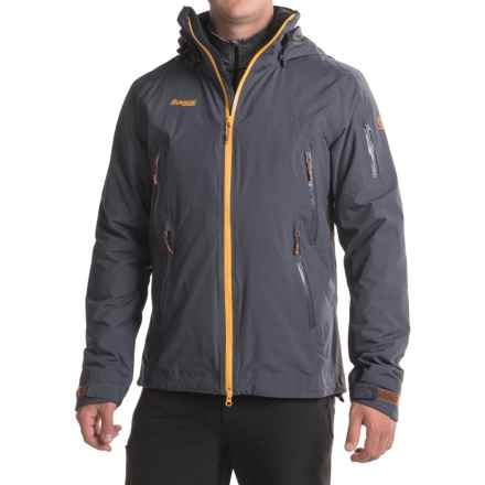 Bergans of Norway Nesbyen Jacket - Waterproof, Insulated (For Men) in Night Blue/Desert Sunset/Copper - Closeouts