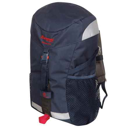Bergans of Norway Nordkapp Jr. Backpack - 18L (For Big Kids) in Navy/Red - Closeouts