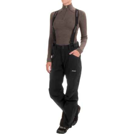 Bergans of Norway Oppdal Pants - Waterproof (For Women) in Black - Closeouts