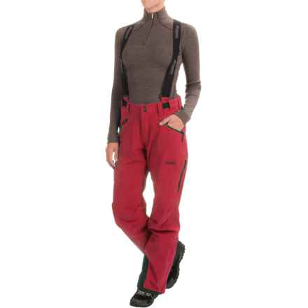 Bergans of Norway Oppdal Pants - Waterproof (For Women) in Red - Closeouts