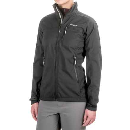 Bergans of Norway Reine Soft Shell Jacket (For Women) in Black - Closeouts