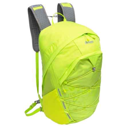 Bergans of Norway Rondane 26L Backpack in Neon Green/Solid Dark Grey - Closeouts