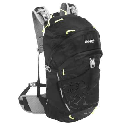 Bergans of Norway Rondane 30L Backpack in Black/Neon Green - Closeouts